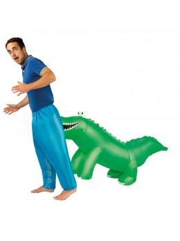déguisement crocodile gonflable