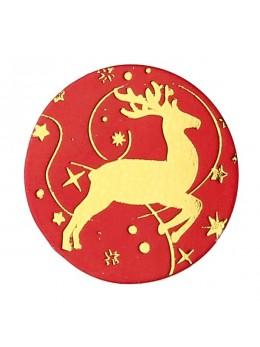 Confetti renne rouge