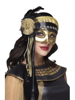Masque loup reine d'Egypte