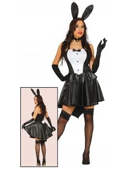 déguisement sexy bunny noire