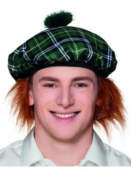 Béret écossais vert