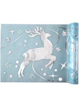 chemin de table rennes de Noël