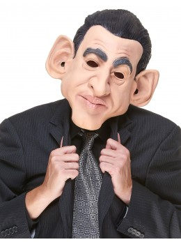 masque latex nicolas sarkozy