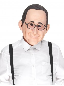 masque latex françois hollande