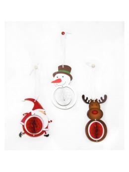 3 décos Noël en papier