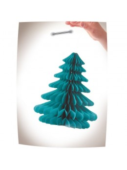 Déco papier sapin de Noël