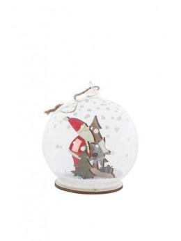 Boule en verre Père Noël