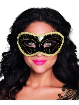 Masque loup Gabriella noir