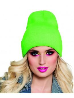 Bonnet fluo vert