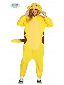Déguisement créature jaune