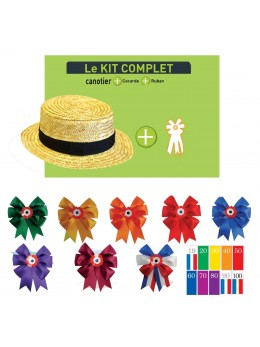 Kit conscrit canotier parade taille 57