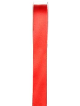 25m Ruban satin rouge