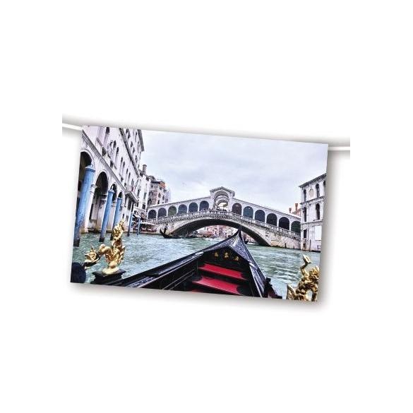 guirlande th me italie le pont de venise soir e. Black Bedroom Furniture Sets. Home Design Ideas