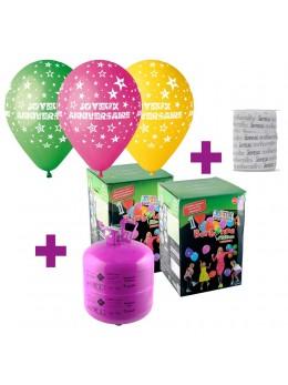 Kit Hélium anniversaire