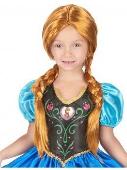 Perruque enfant Anna reine des neiges