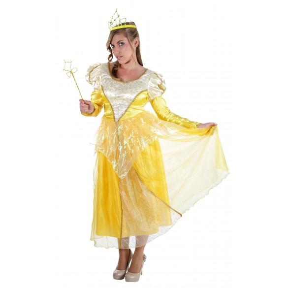 déguisement princesse jaune