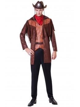 Déguisement Cowboy marron