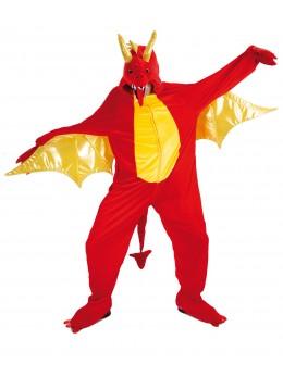 déguisement dragon rouge