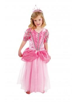 Déguisement petite princesse rose