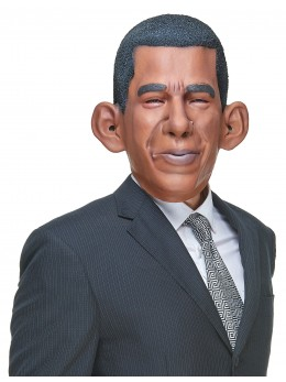 Masque humoristique en latex Barack
