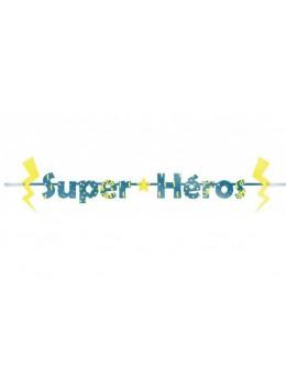 Guirlande lettres Super-Héro 3m