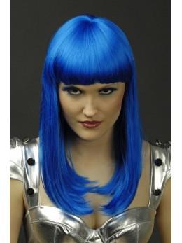 perruque lola bleue