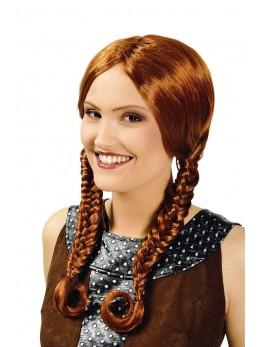 Perruque Viking femme