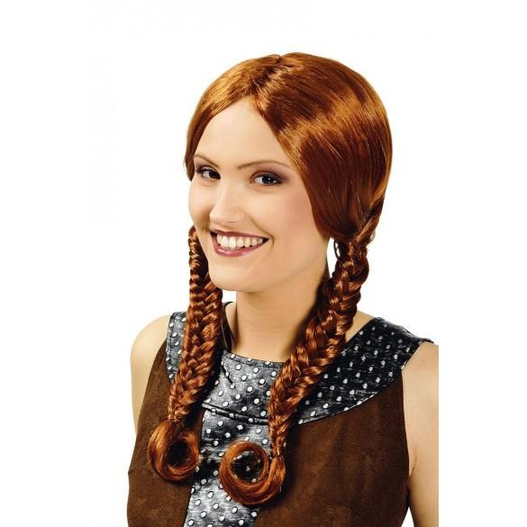 Perruque de viking pour femme pas cher -