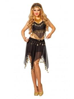 déguisement danseuse orientale noir