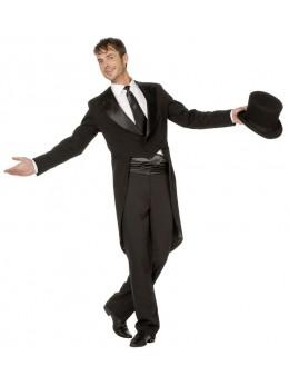 déguisement veste queue de pie noire