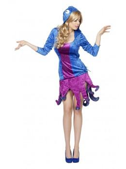déguisement femme pieuvre