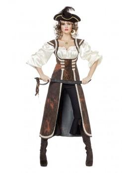 Déguisement femme de pirate de haute mer