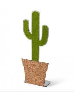 Cactus métal et liège 30cm