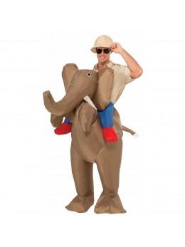 déguisement éléphant gonflable