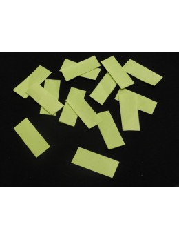 canon à confetti vert tilleul