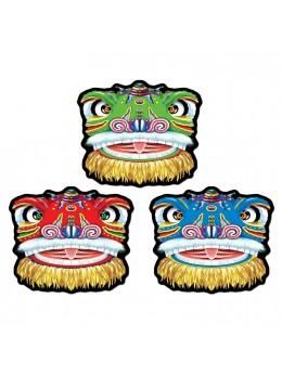 Décor carton dragon chinois 40cm