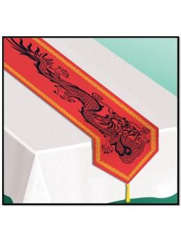 Chemin de table imprimé nouvel an chinois