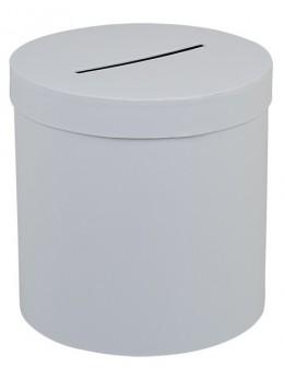 Urne ronde blanche