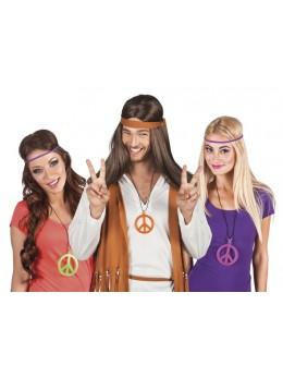 collier sigle hippie