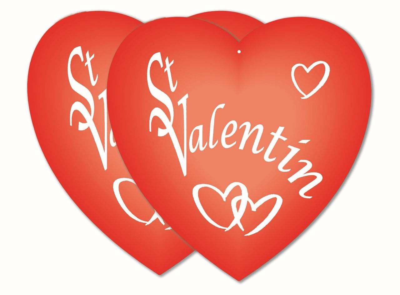 coeur saint valentin 30m fête en folie