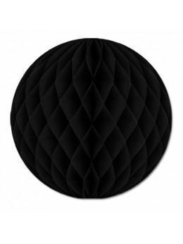 Boule papier ignifugé 50 cm noir