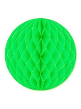 Boule papier ignifugé 50 cm vert tilleul