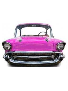 Figurine carton voiture américaine