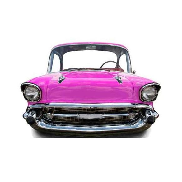 Figurine carton g ante voiture am ricaine - Deco retro americaine ...