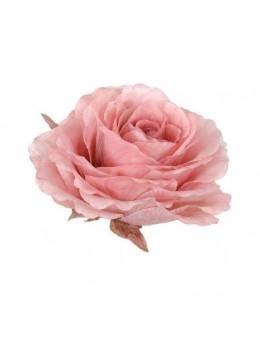 Décoration rose organza géante 30cm