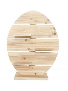 Support en bois forme ronde38,5x10x50cm