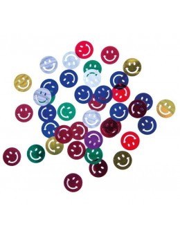 Sachet confetti de table smiley