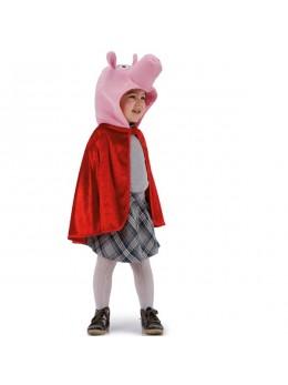 Déguisement manteau et coiffe cochon