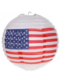 2 lampions ballons USA