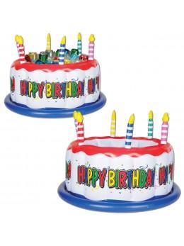 Gâteau d'anniversaire gonflable cooler
